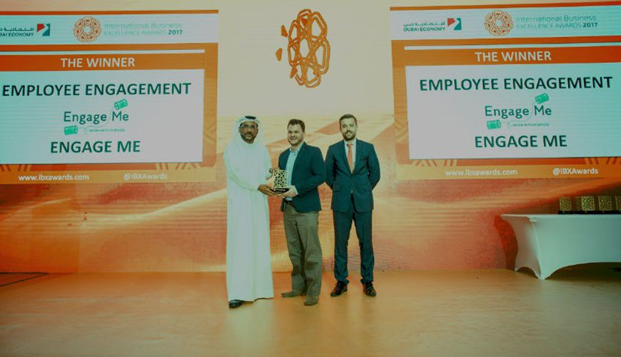 Engage Me wins top UAE business award
