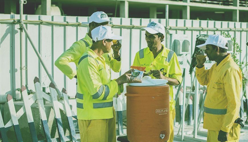 More than juice: how SUPERHYDRATE uses science to keep the UAE's construction workers going