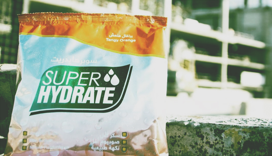 SUPERHYDRATE in its revamped packaging