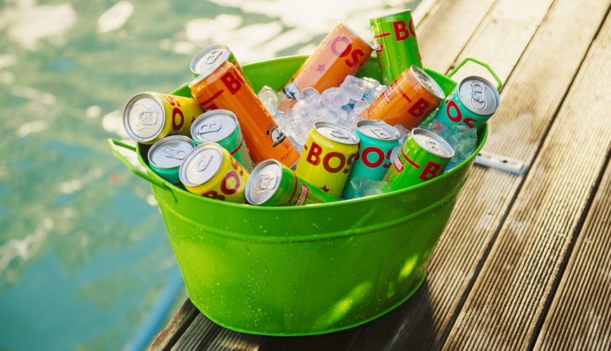 BOS Cans in a bucket