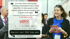 Work 2.0: The Middle East's definitive workplace tech, learning and wellbeing event