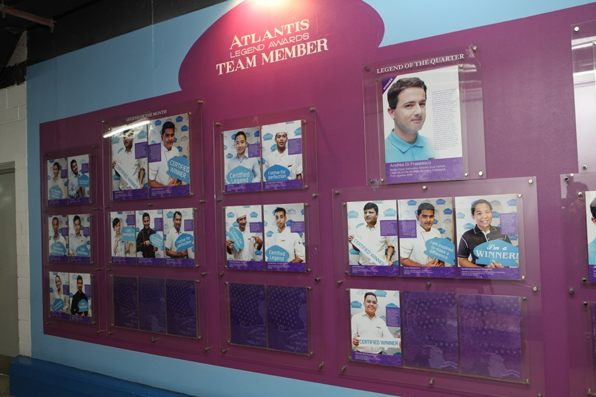 Legends Awards Wall